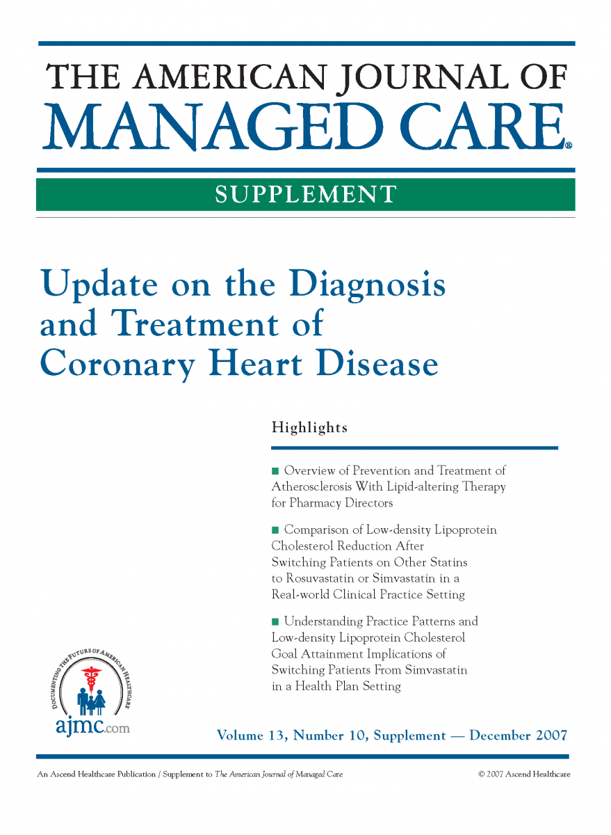 Update on the Diagnosis and Treatment of Coronary Heart Disease