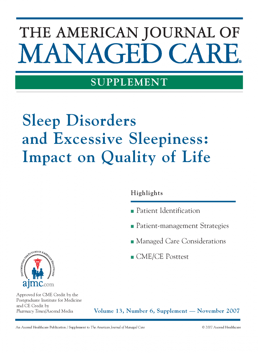 Sleep Disorders and Excessive Sleepiness: Impact on Quality of Life