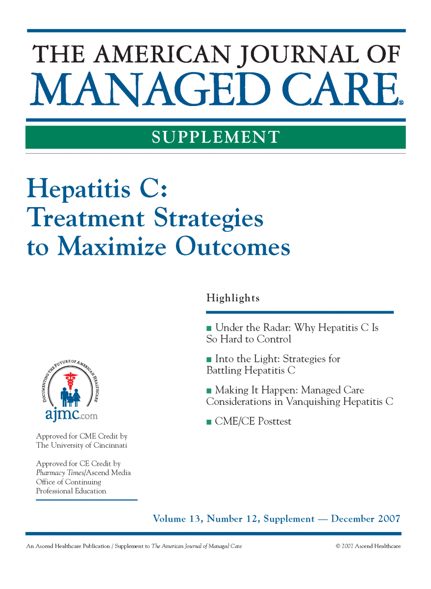 Hepatitis C: Treatment Strategies to Maximize Outcomes