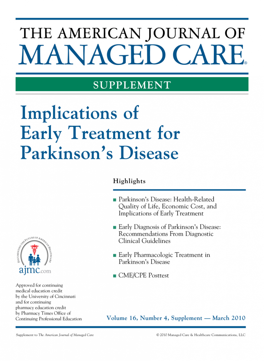 Implications of Early Treatment for Parkinson's Disease [CME/CPE]