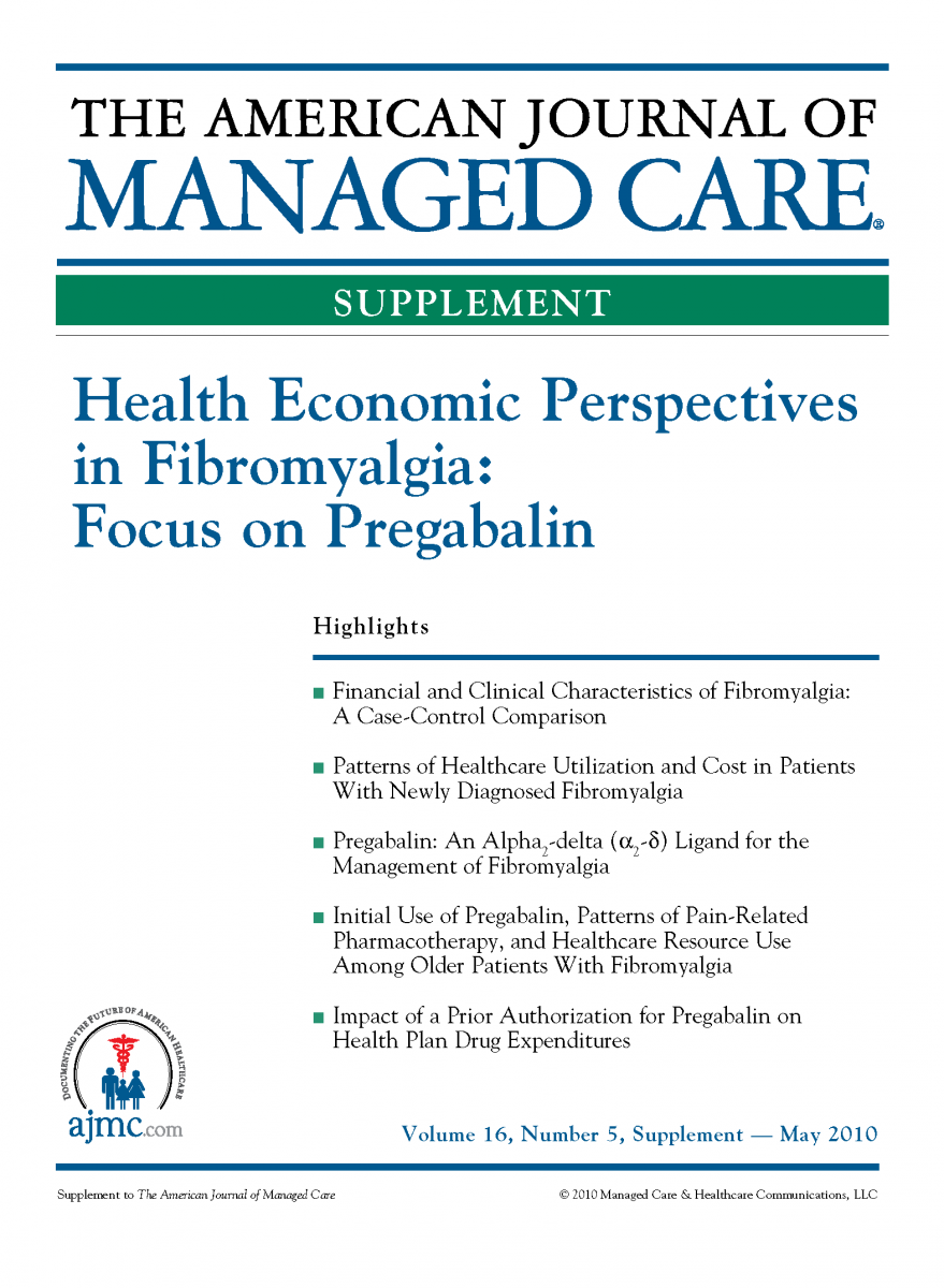 Health Economic Perspectives in Fibromyalgia: Focus on Pregabalin