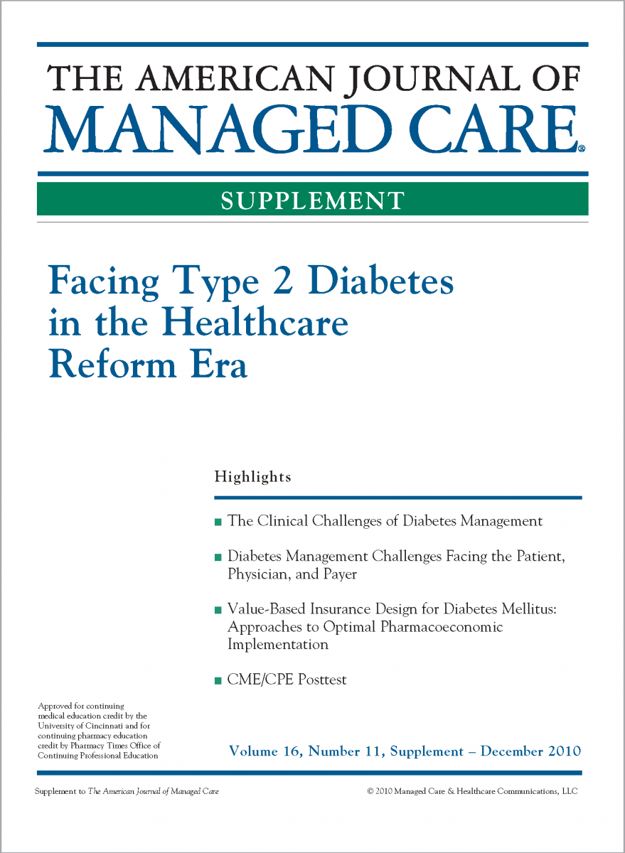 Facing Type 2 Diabetes in the Healthcare Reform Era [CME/CPE]