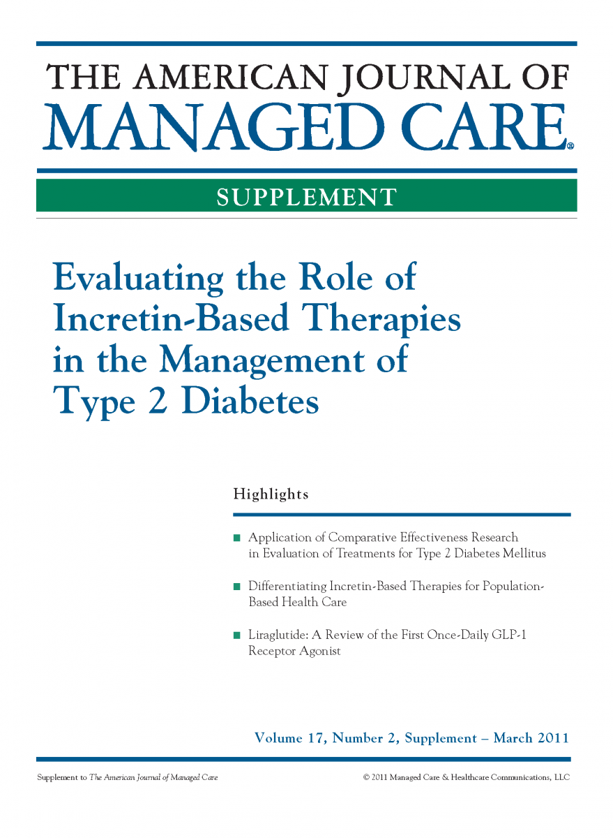 Evaluating the Role of Incretin-Based Therapies in the Management of Type 2 Diabetes