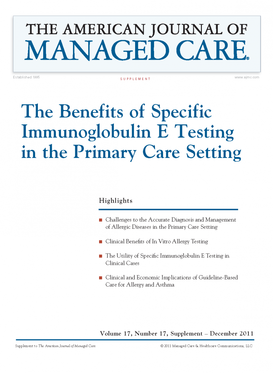 The Benefits of Specific Immunoglobulin E Testing in the Primary Care Setting