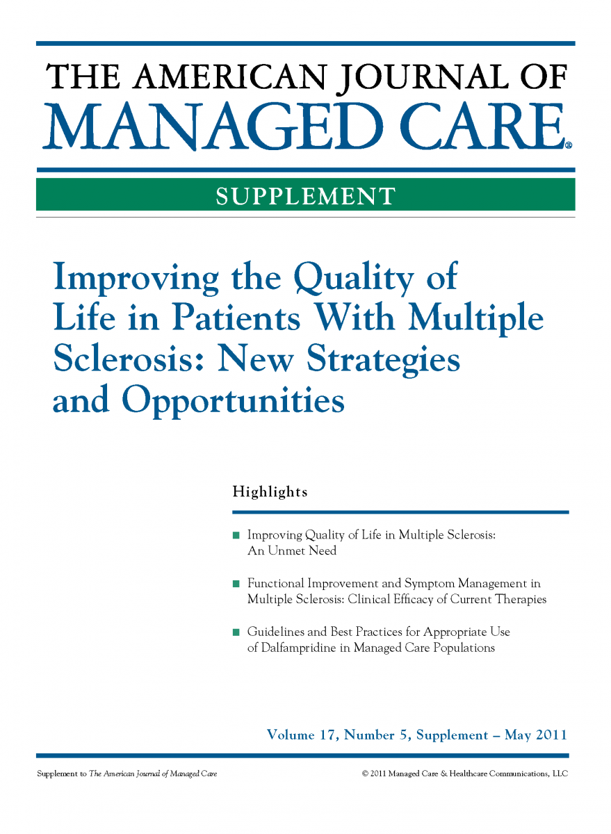 Improving the Quality of Life in Patients With Multiple Sclerosis: New Strategies and Opportunities