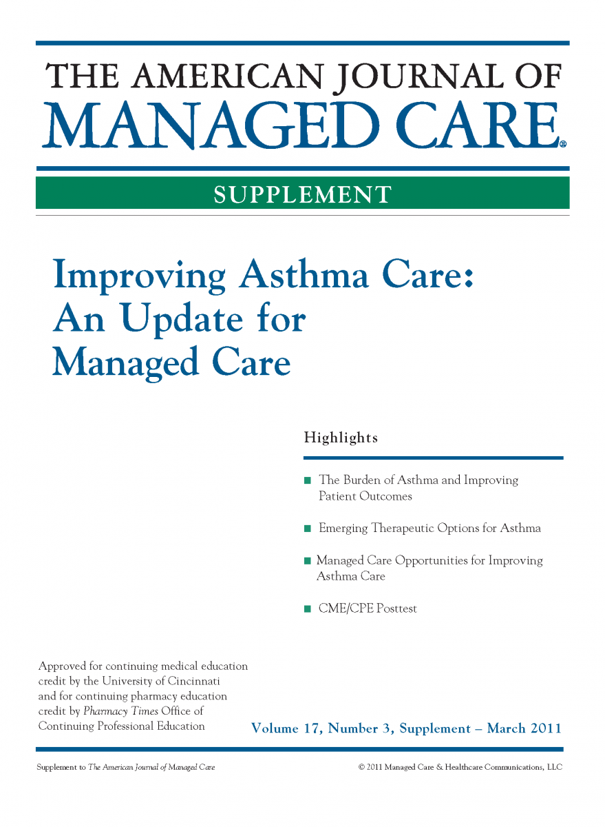 Improving Asthma Care: An Update for Managed Care [CME/CPE]
