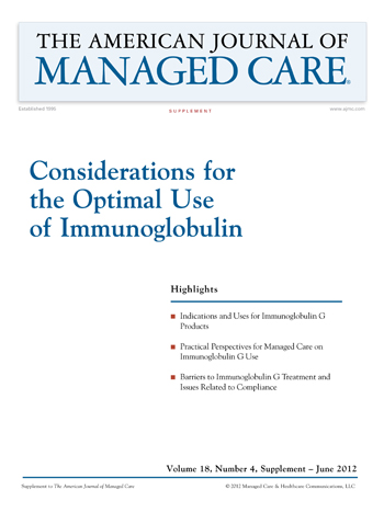 Considerations for the Optimal Use of Immunoglobulin