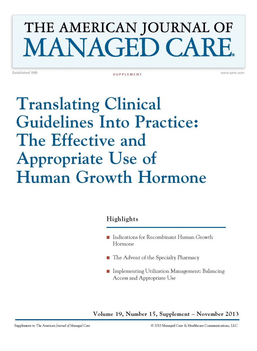 Translating Clinical Guidelines Into Practice: The Effective and Appropriate Use of Human Growth Hormone