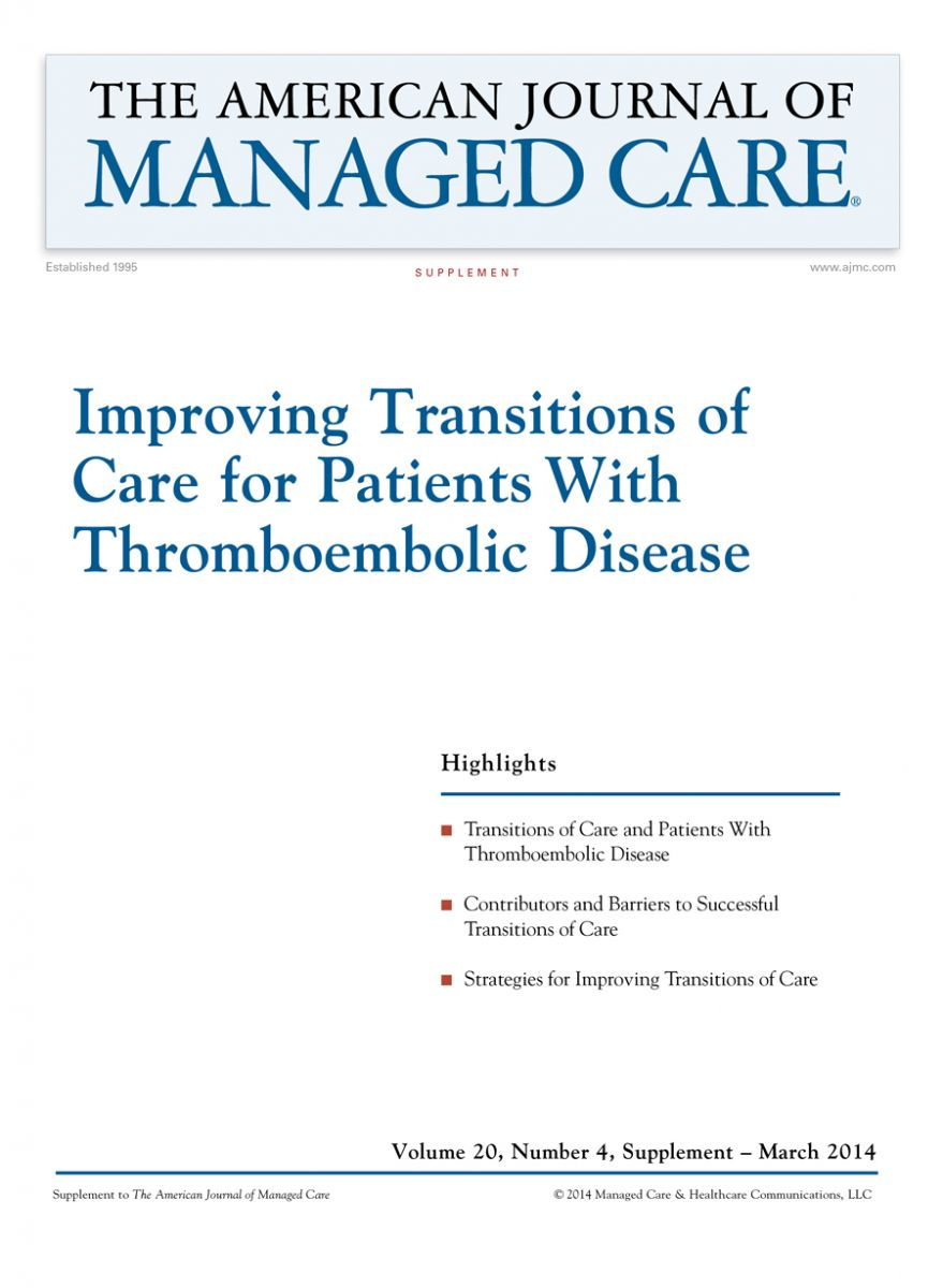 Improving Transitions of Care for Patients With Thromboembolic Disease