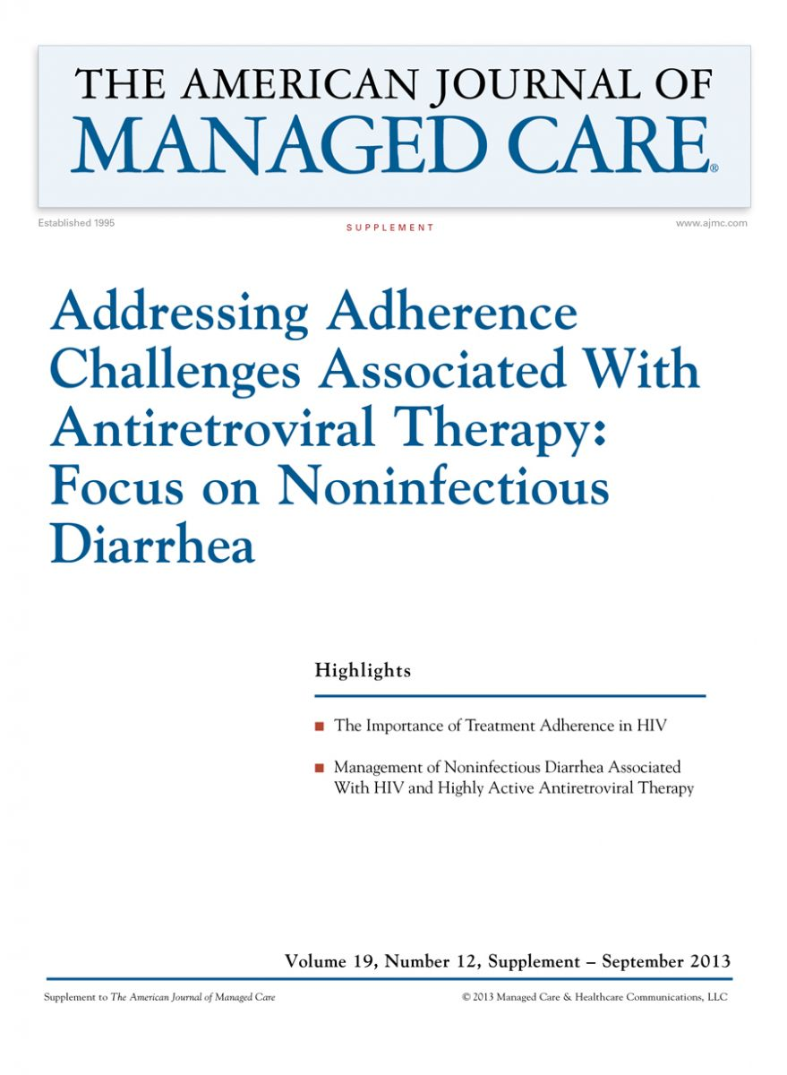 Addressing Adherence Challenges Associated With Antiretroviral Therapy: Focus on Noninfectious Diarrhea