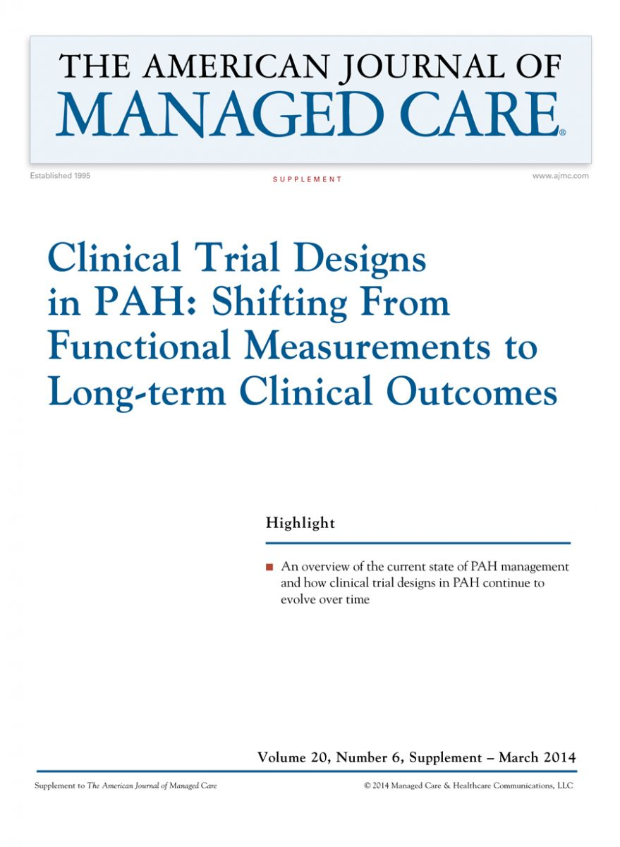 Clinical Trial Designs  in PAH: Shifting From  Functional Measurements  to Long-term Clinical  Outcomes