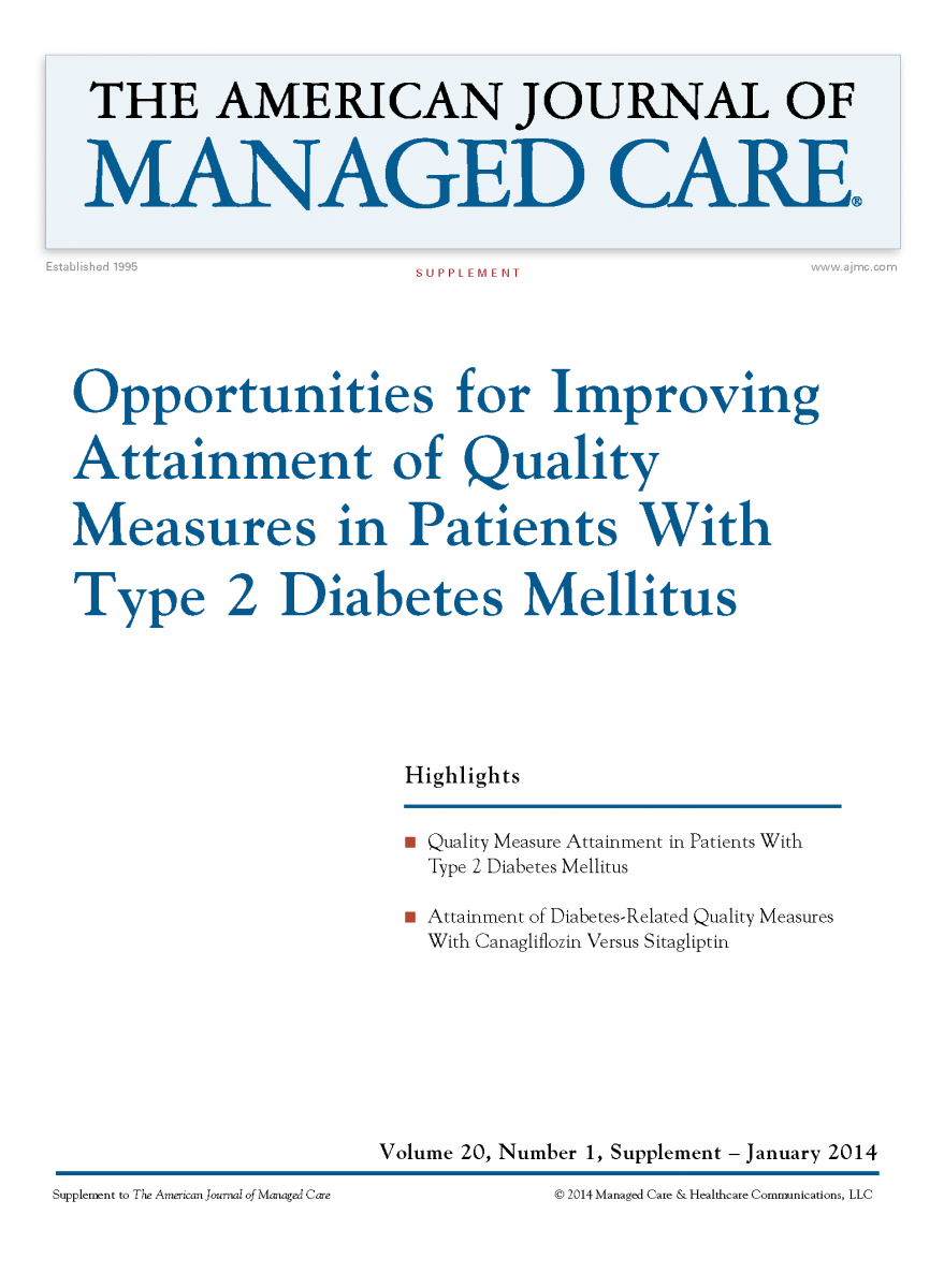 Opportunities for Improving Attainment of Quality Measures in Patients With Type 2 Diabetes Mellitus