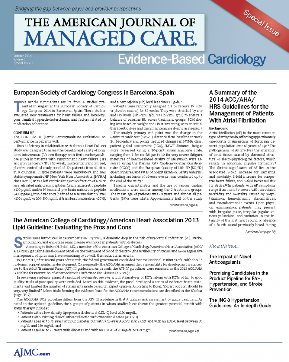 Evidence-Based Cardiology - October