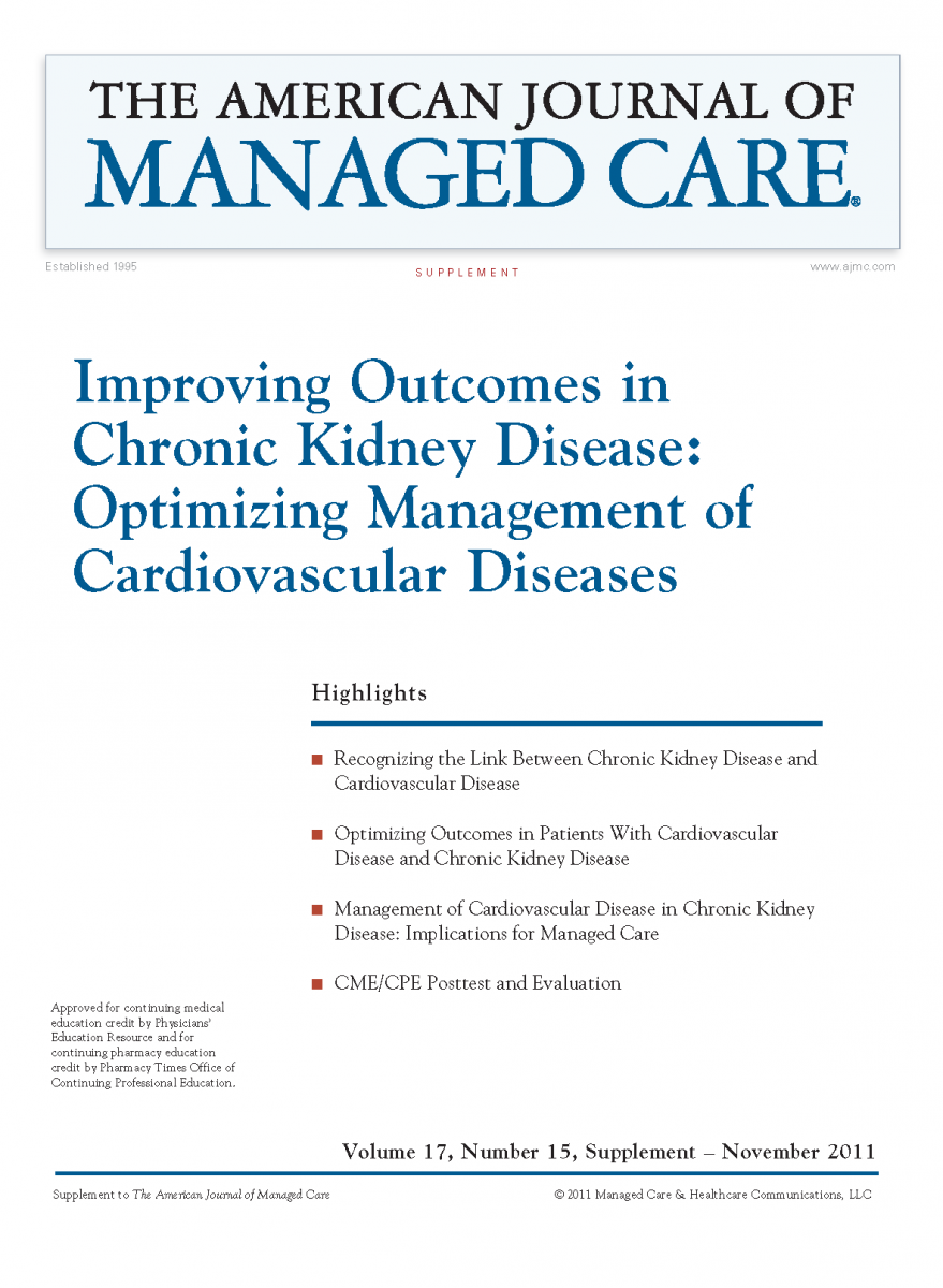 Improving Outcomes in Chronic Kidney Disease: Optimizing Management of Cardiovascular Diseases [CME/CPE]