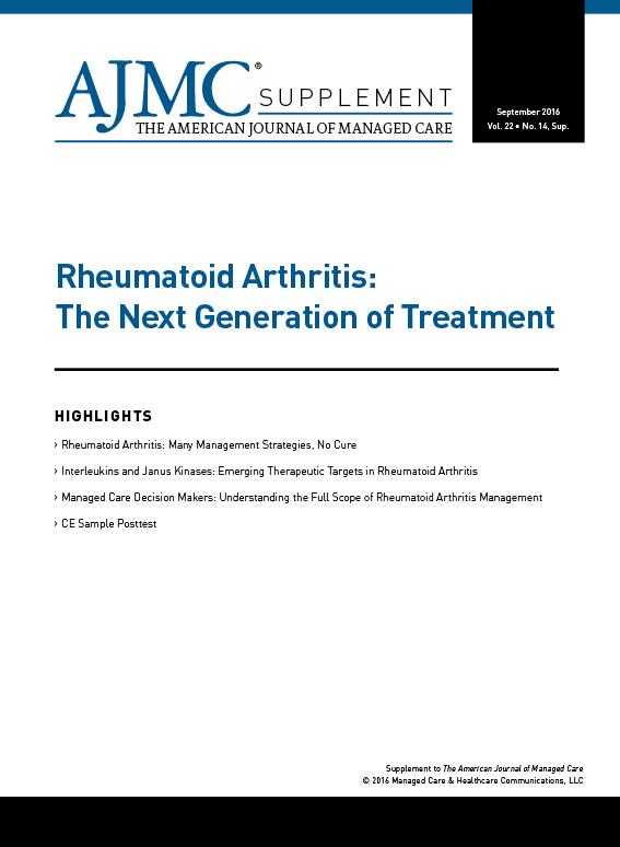 Rheumatoid Arthritis:The Next Generation of Treatment