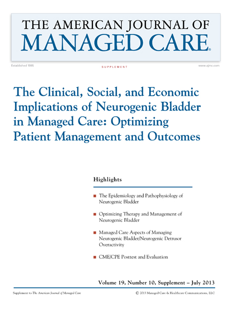 The Clinical, Social, and Economic Implications of Neurogenic Bladder in Managed Care: Optimizing Patient Management and Outcomes [CPE/CME]