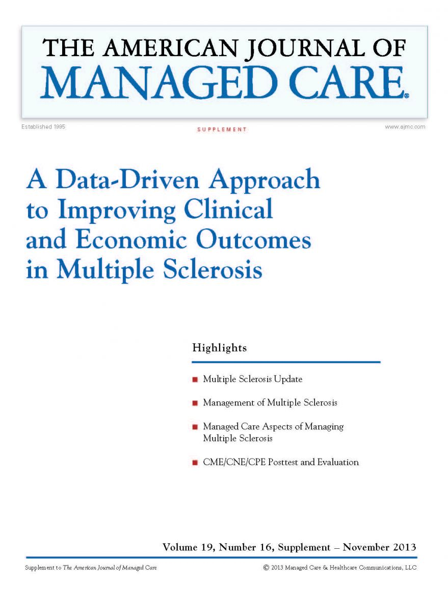 A Data-Driven Approach to Improving Clinical and Economic Outcomes in Multiple Sclerosis [CME/CNE/CPE]