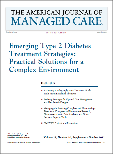 Emerging Type 2 Diabetes Treatment Strategies: Practical Solutions for a Complex Environment [CME/CPE]