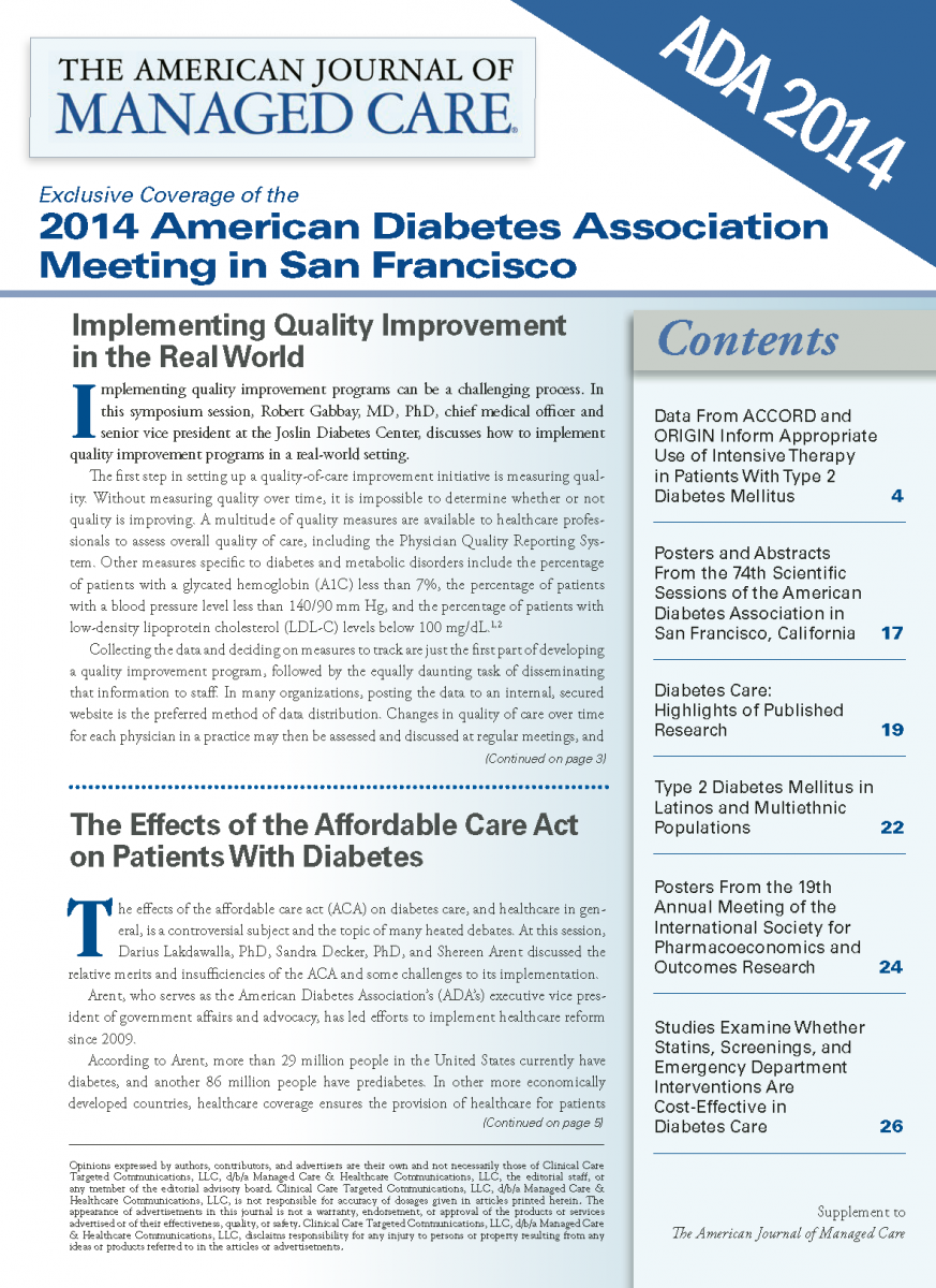 ADA 2014 Conference Coverage