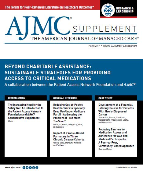 Beyond Charitable Assistance: Sustainable Strategies for Providing Access to Critical Medications