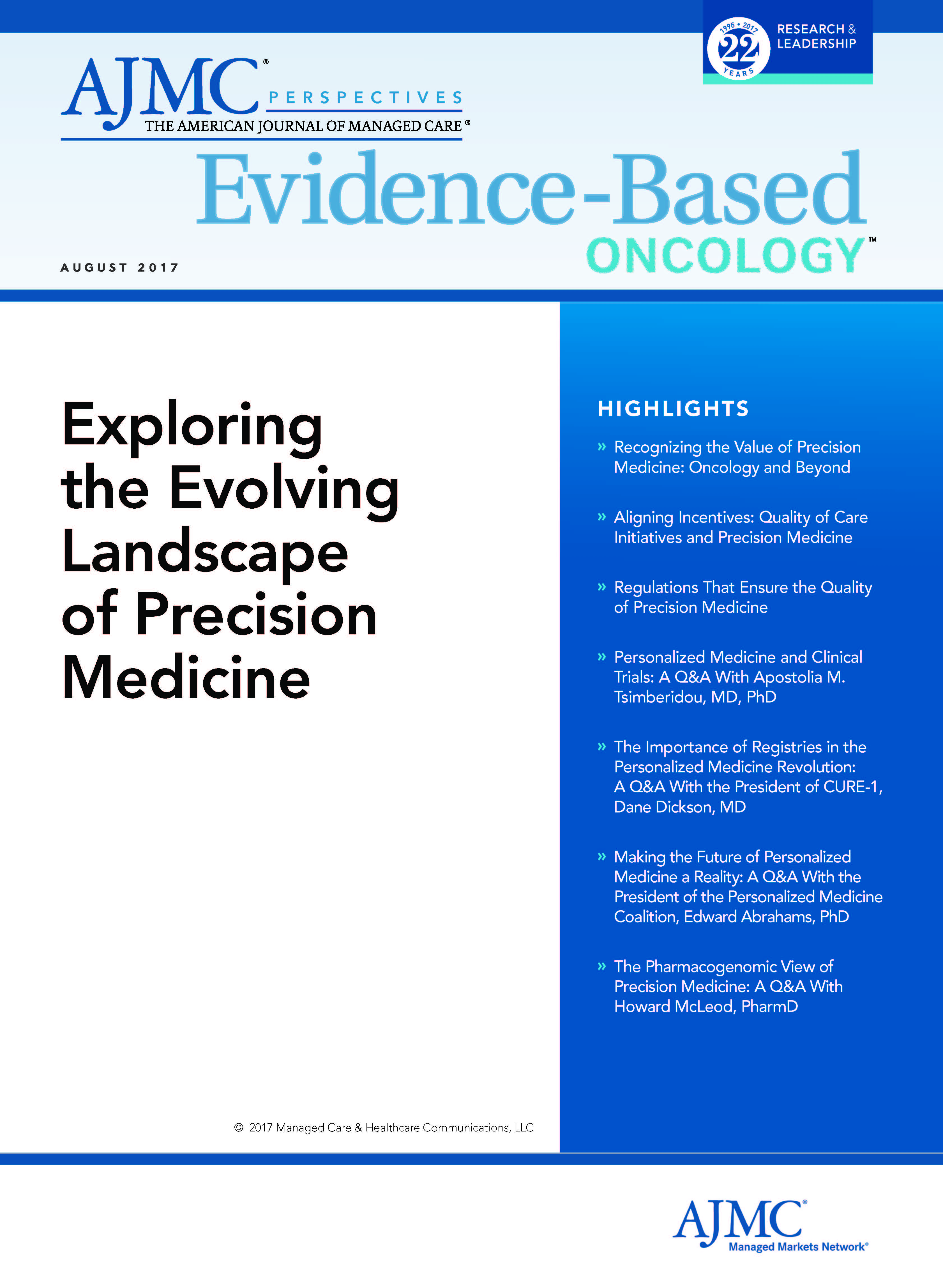 Exploring the Evolving Landscape of Precision Medicine