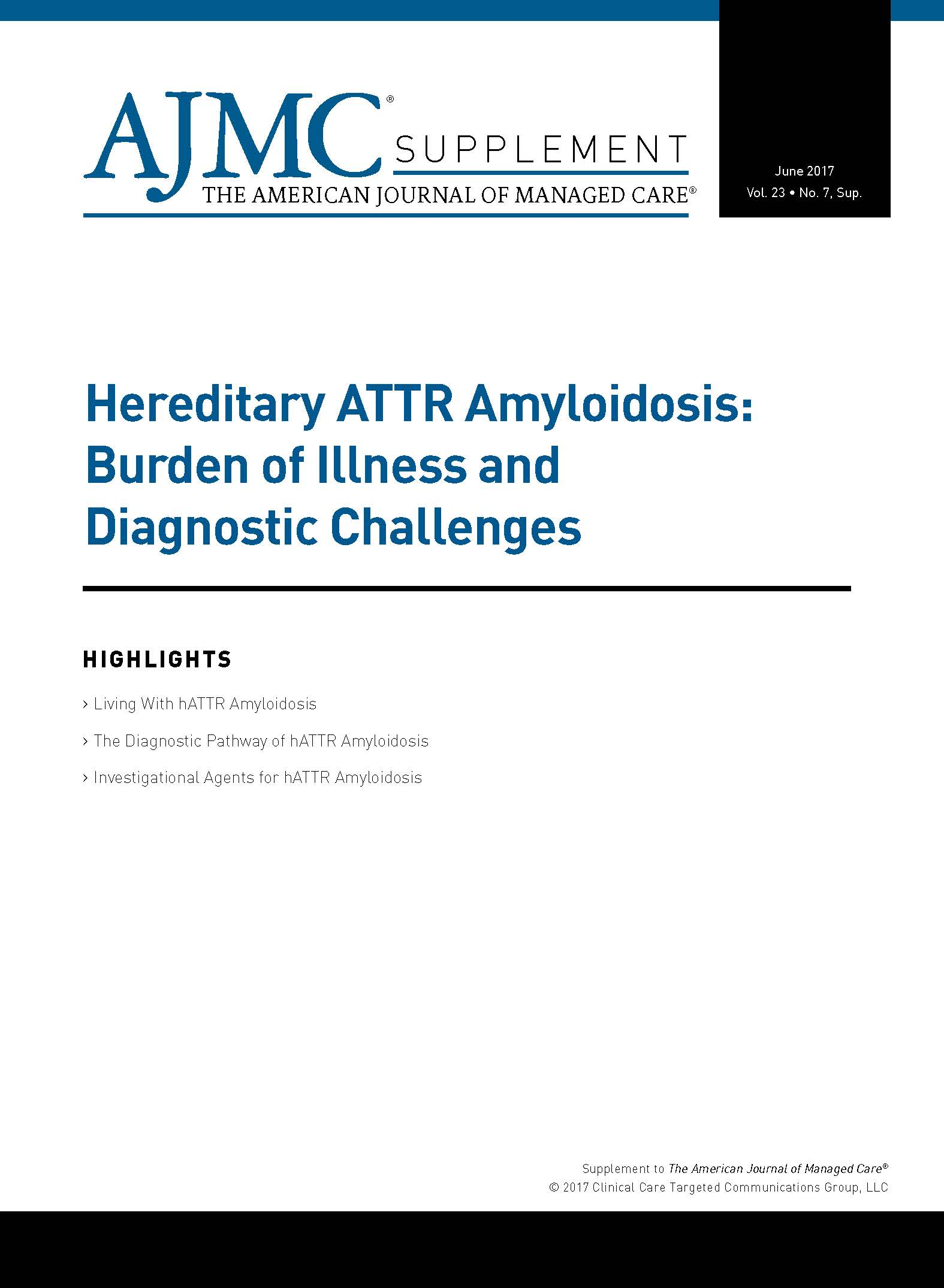Hereditary ATTR Amyloidosis: Burden of Illness and Diagnostic Challenges