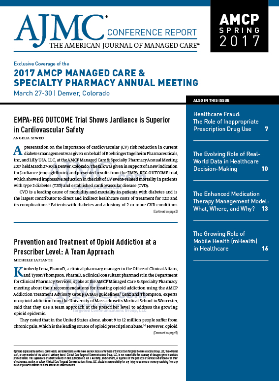 Exclusive Coverage of the 2017 AMCP MANAGED CARE & SPECIALTY PHARMACY ANNUAL MEETING
