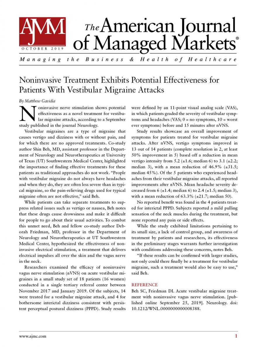 American Journal of Managed Markets