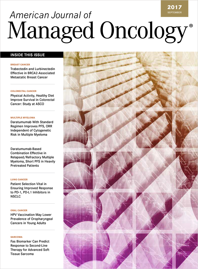 American Journal of Managed Oncology [September 2017]