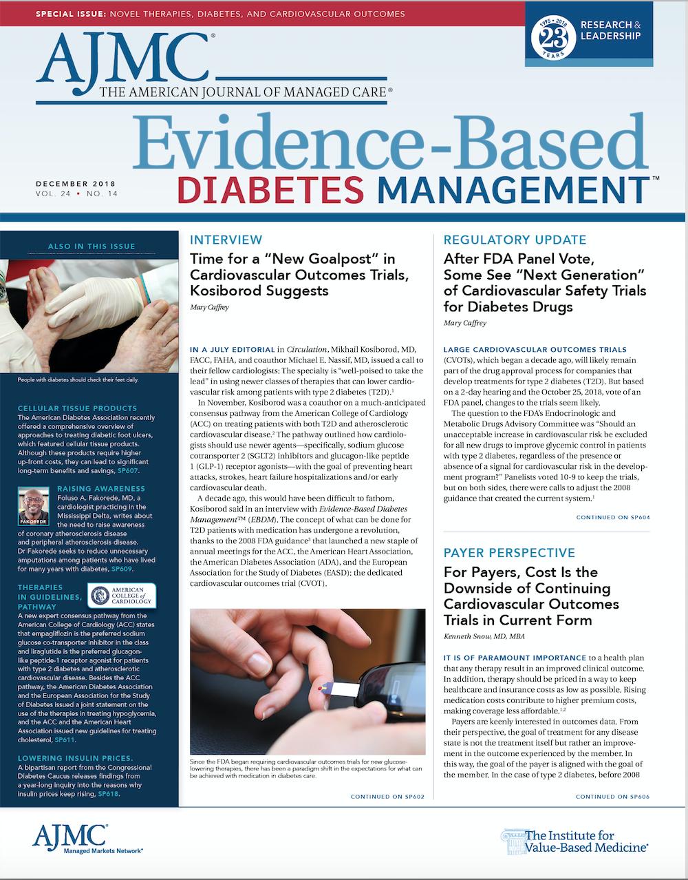 Evidence-Based Diabetes Management
