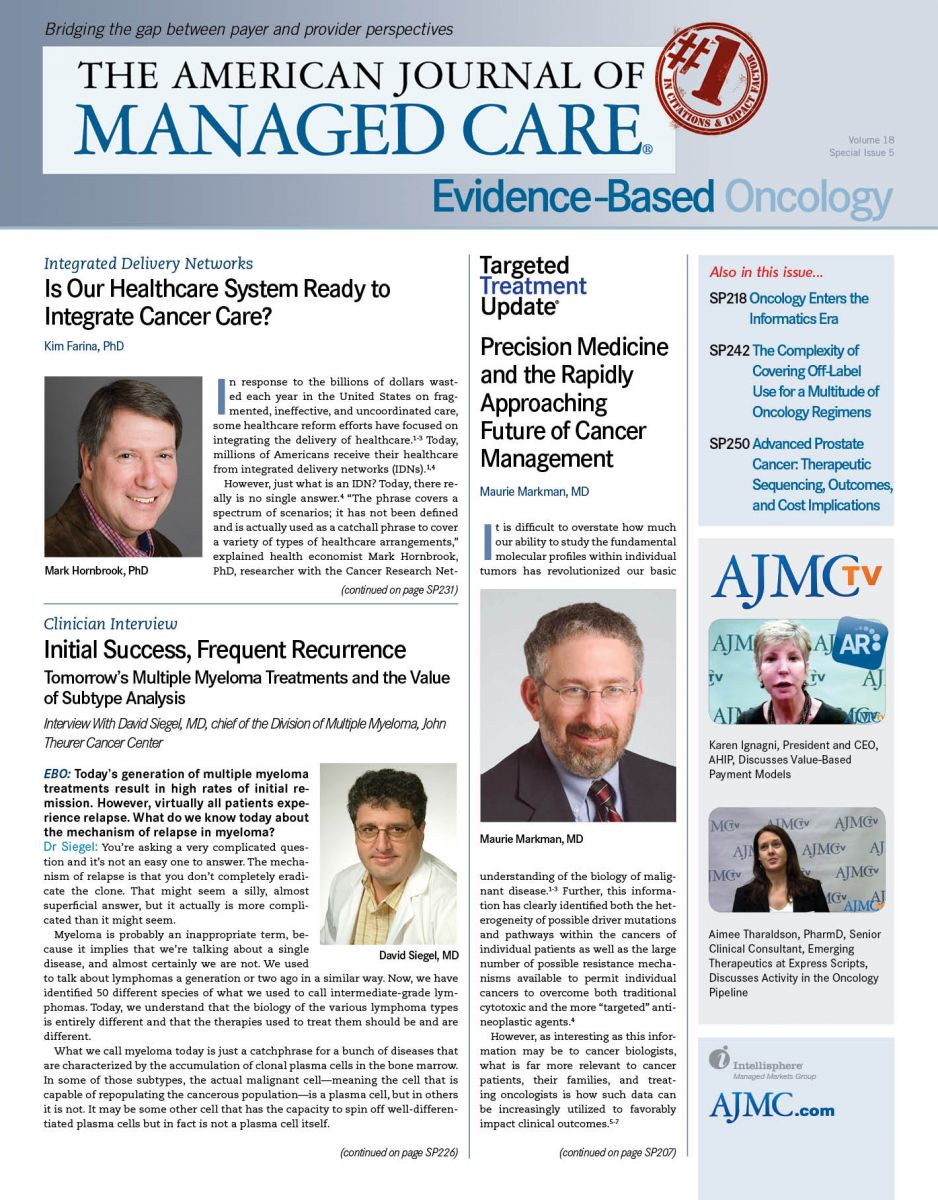 Evidence-Based Oncology