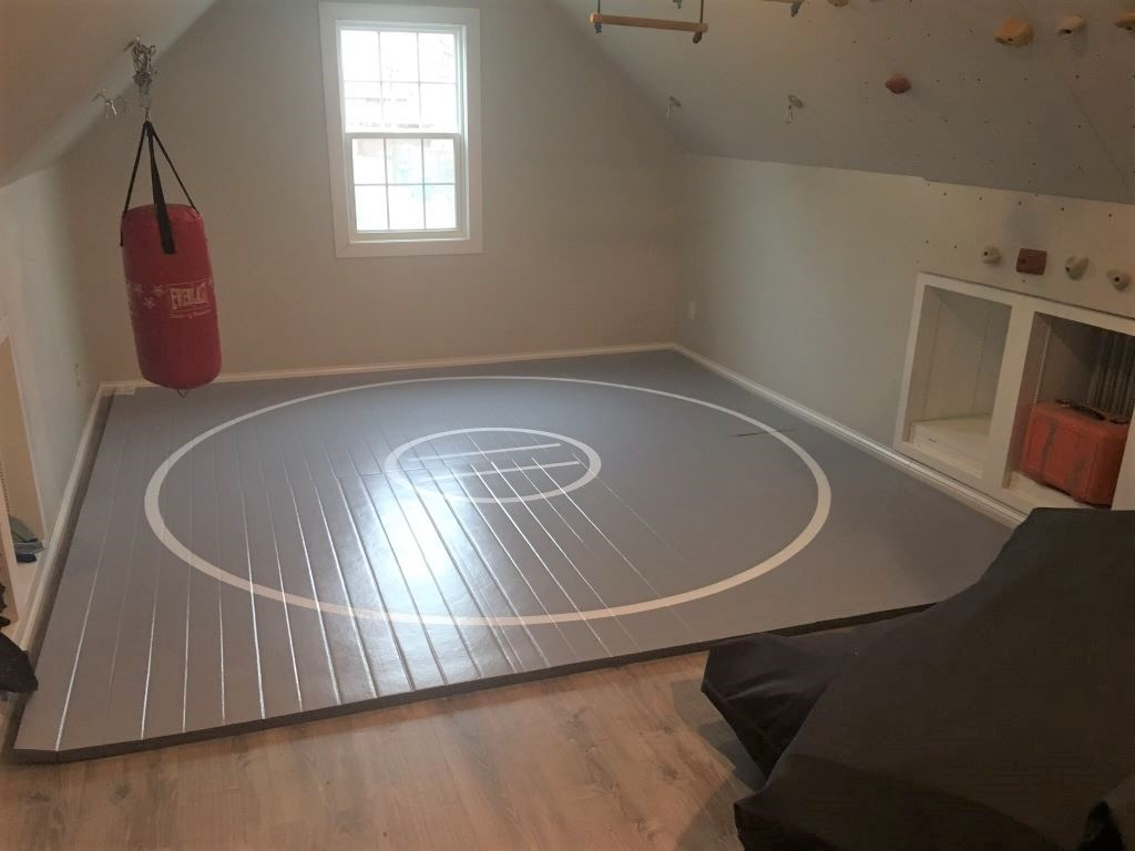 home workout floor mat