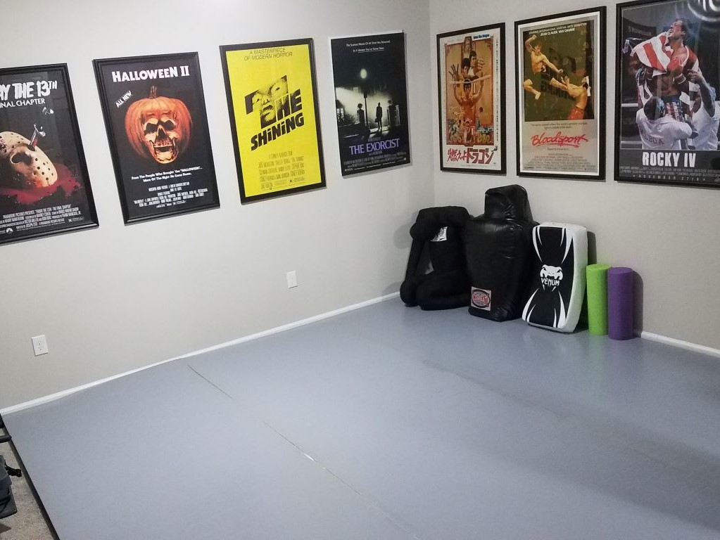 Home bjj training mats