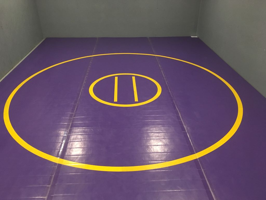 home grappling mat