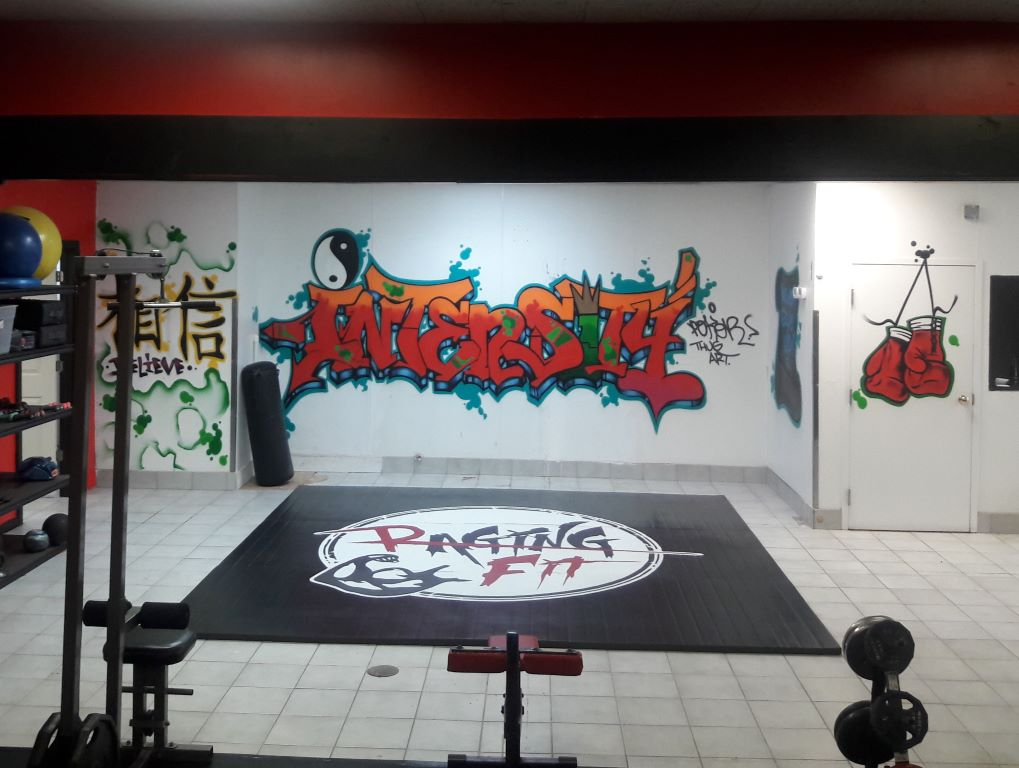 Customize gym mat with your logo
