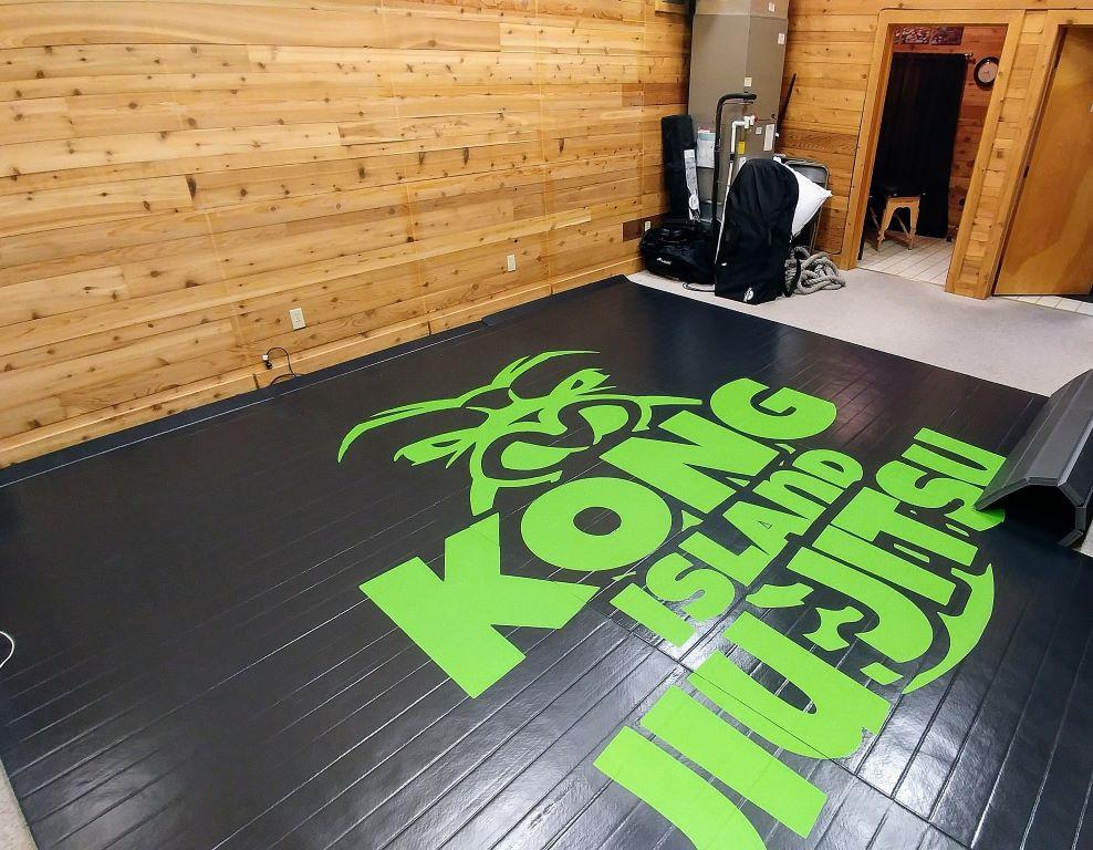 Jiu Jitsu printed gym mat