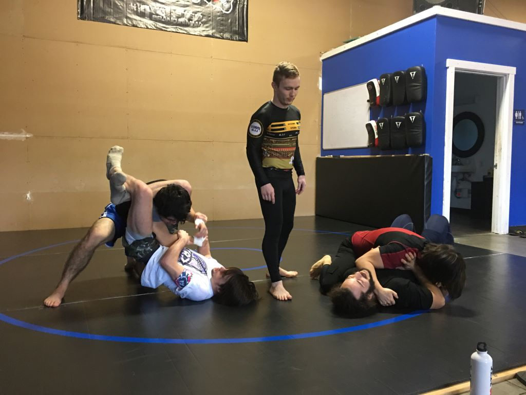 Jiu Jitsu take down mats