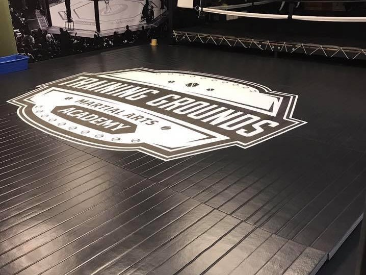 Training Grounds Martial Arts Academy roll up mats