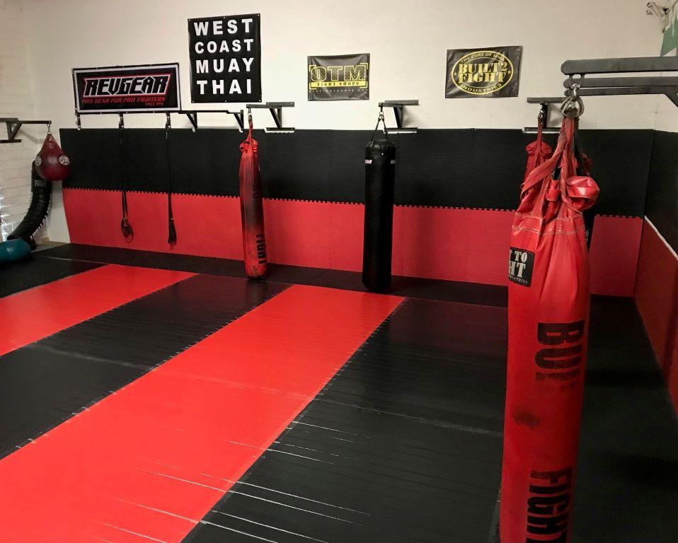 martial arts gym mat