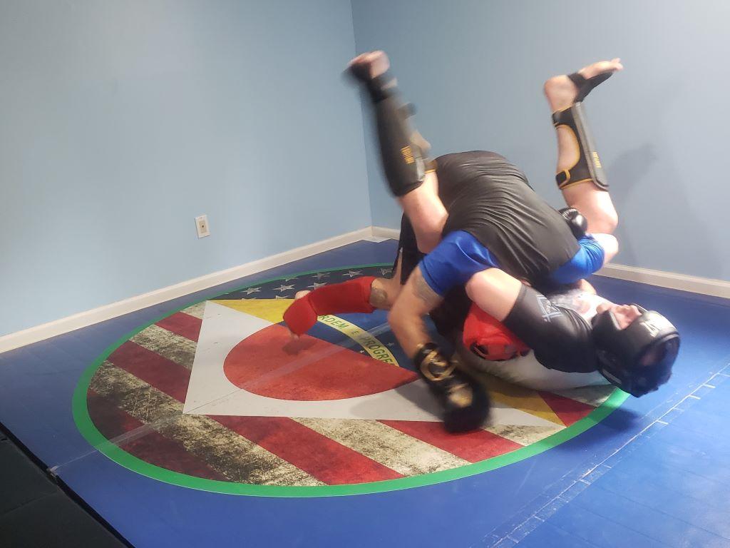 MMA Room, MMA Mat,