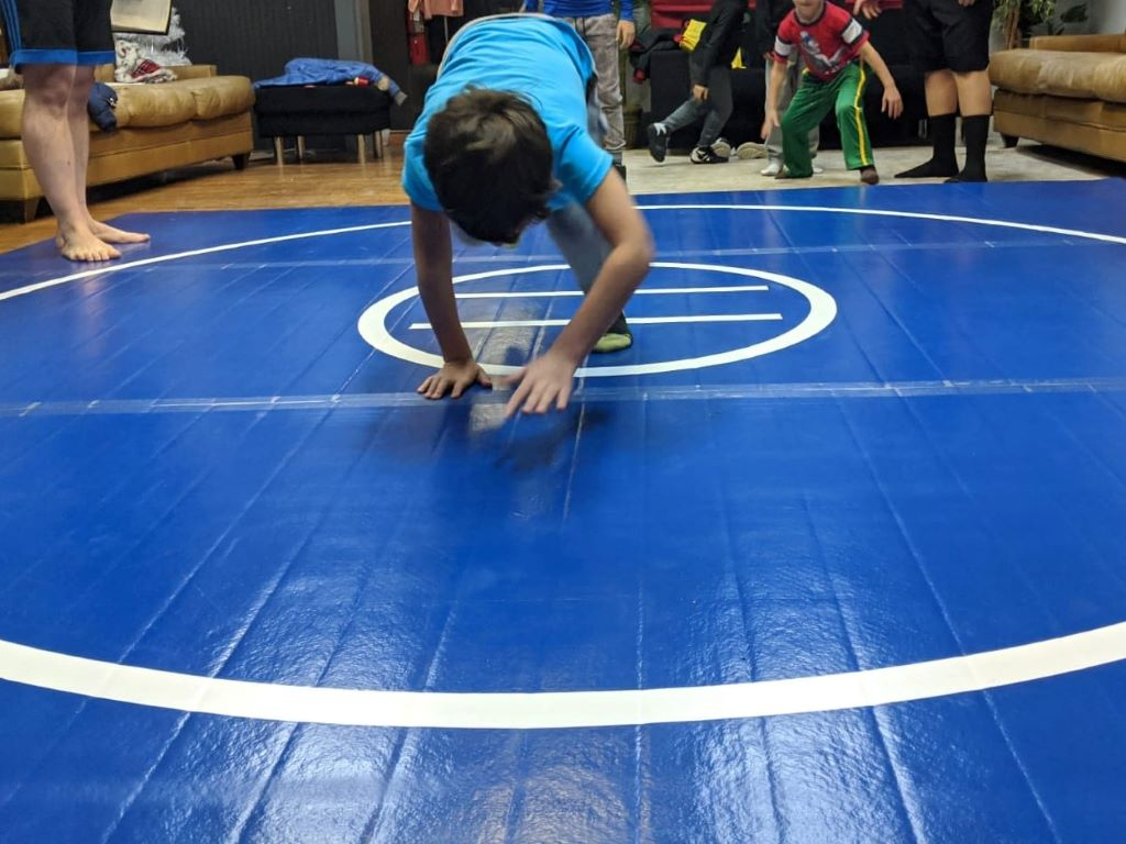 Combat Athlete grappling mats