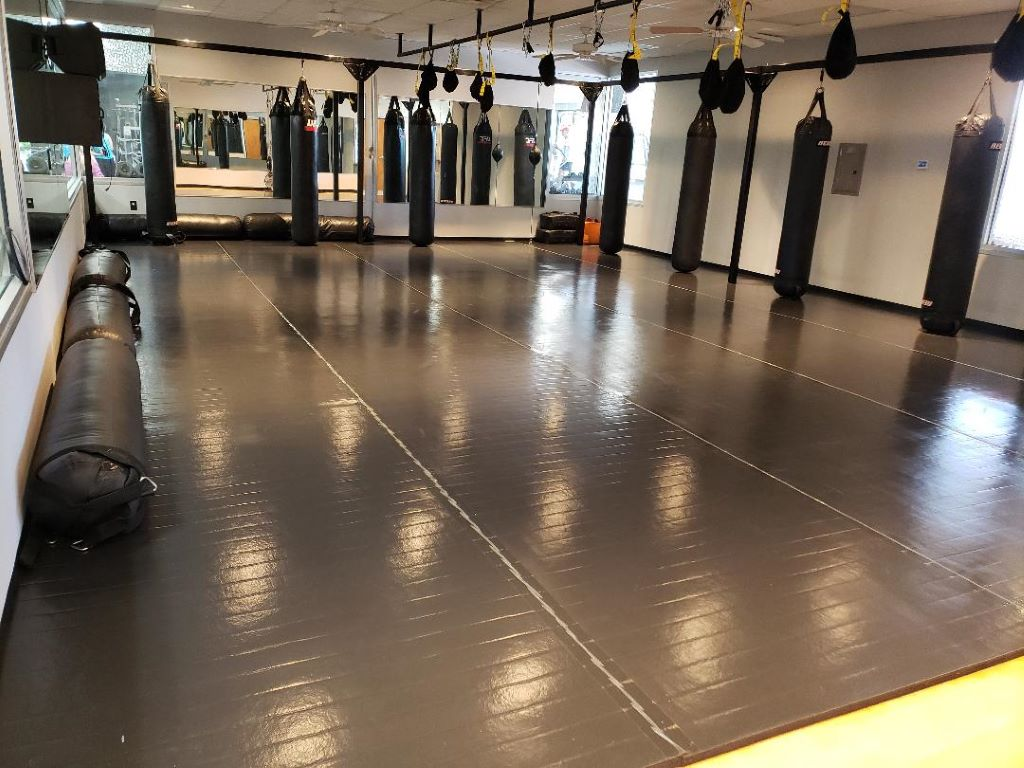 martial arts grappling mat