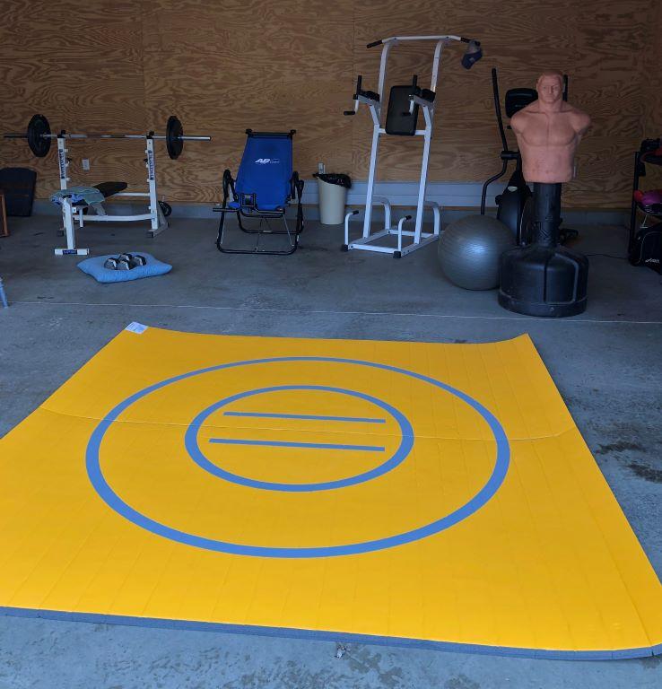 garage gym mma