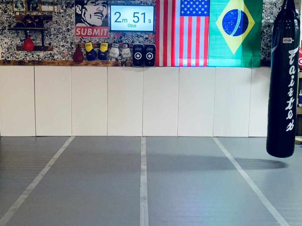 MMA Garage Gym Wall Mats