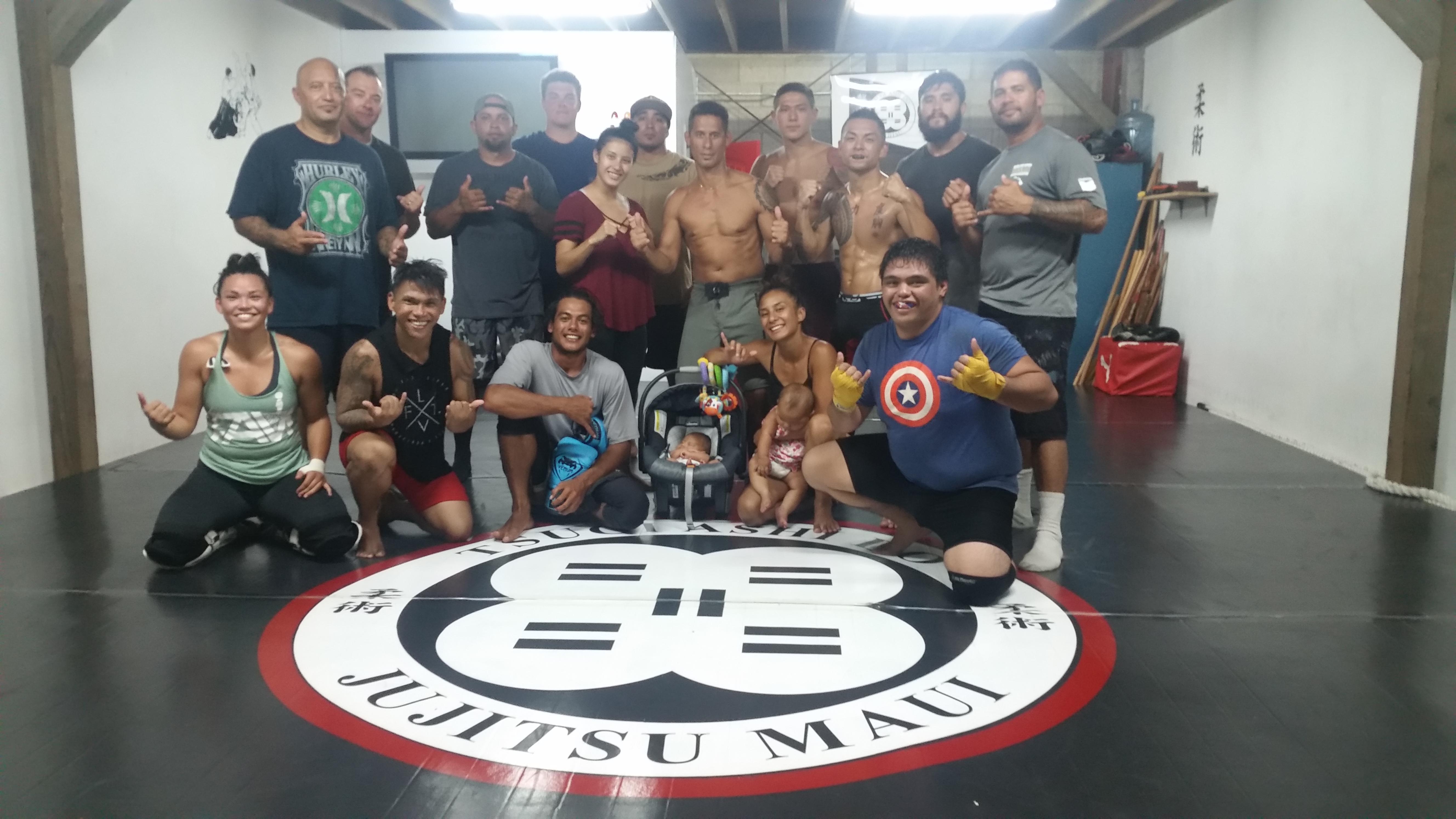 black jujitsu mats