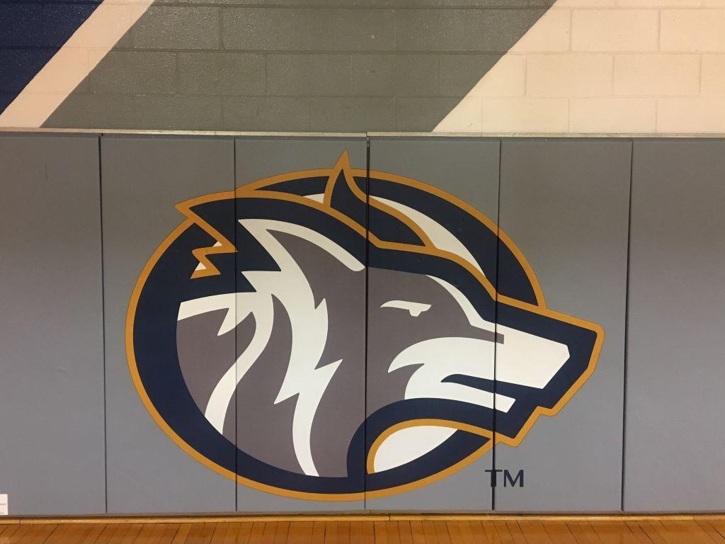 NCAA basketball wall panels
