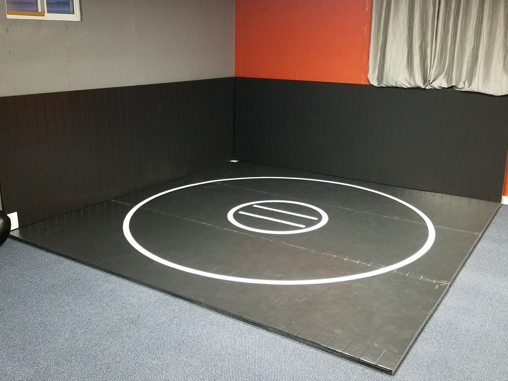 Home Wrestling Room Corner