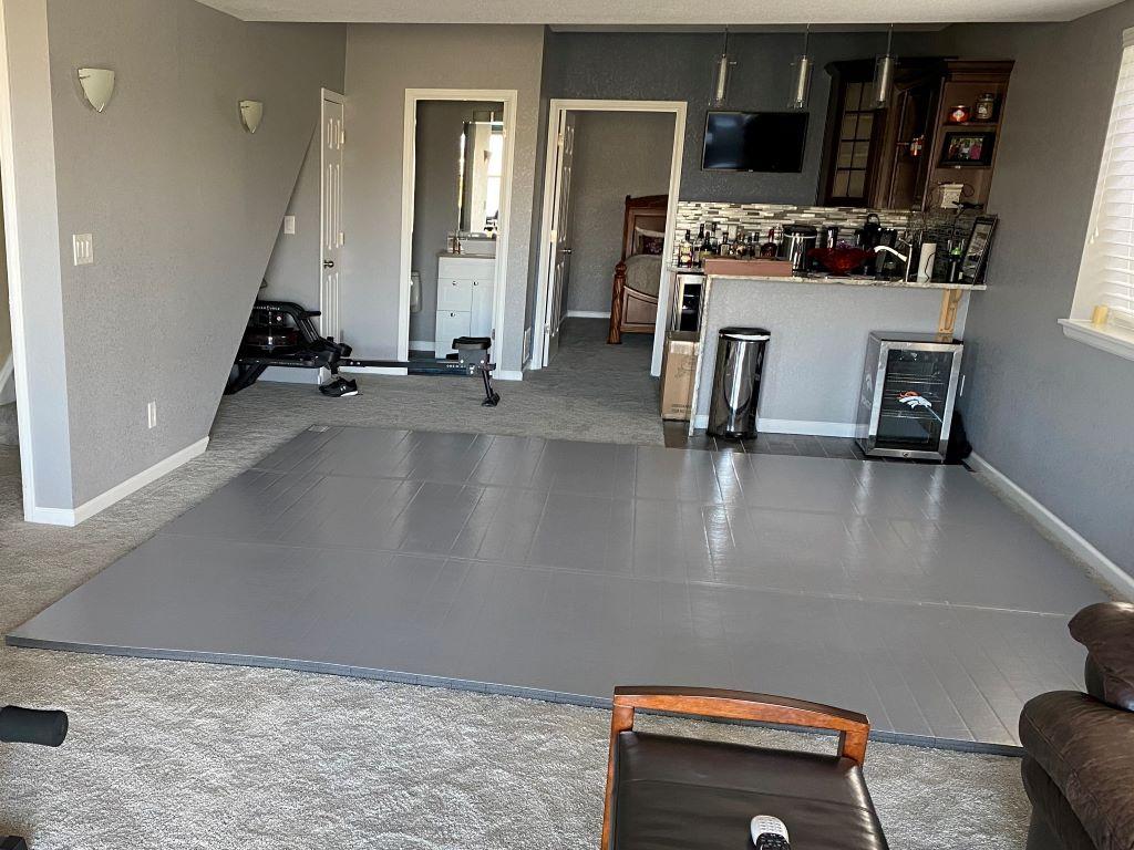 Grey MMA Room