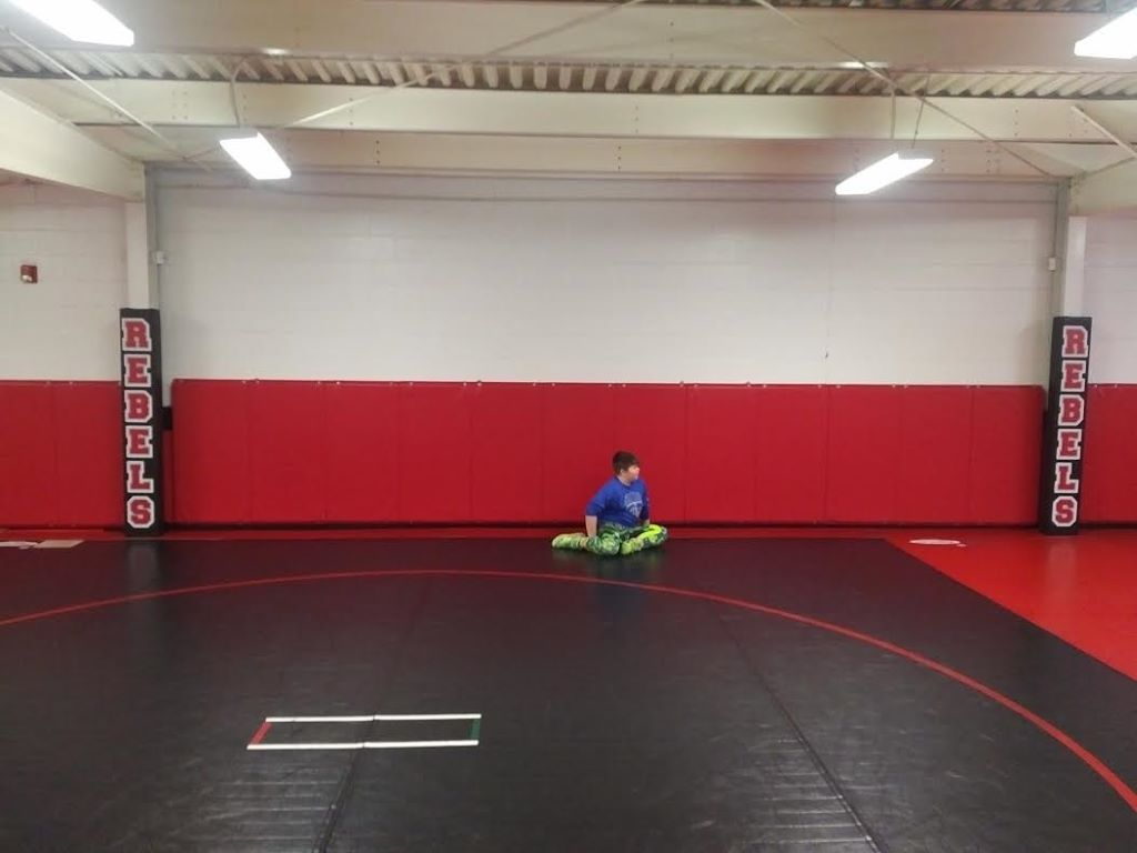wrestling room beam pad
