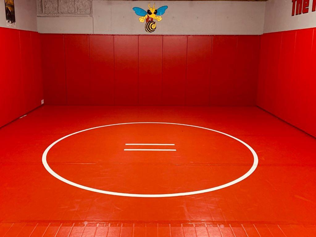 Wrestling Room Red Mat